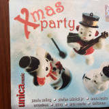 Unica music xmas party compilatie cd disc muzica pop sarbatori nova music 2005