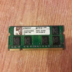 Memorie laptop Kingston 2GB Pc2-6400S 200-Pin DDR2 SO-DIMM 800MHz - Memorie RAM laptop