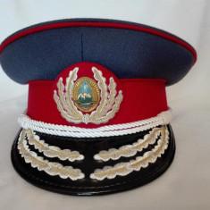 Cascheta, sapca, chipiu general militie RSR