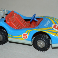 Masinuta veche de tabla RDG cu frictiune Raliu, GT - Jucarie de colectie