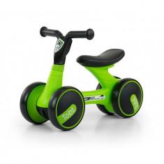Bicicleta fara pedale Tobi Green - Bicicleta copii