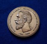 Medalie Muzeul national Carol I - Muzeul taranului roman