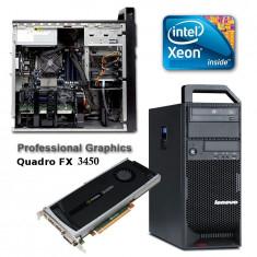 Lenovo Thinkstation S20 I7 (Xeon W3540) 8GB 500GB Nvidia Win 7 Pro - Sisteme desktop fara monitor Lenovo, Intel Xeon, Peste 3000 Mhz, 500-999 GB, Socket: 1366