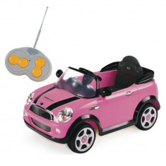 Masinuta electrica Mini Cooper S Roz Biemme - Masinuta electrica copii