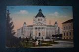 AKVDE18 - Carte postala -  Arad - Palatul de cultura - cenzura KUK militara, Circulata, Printata