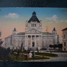 AKVDE18 - Carte postala - Arad - Palatul de cultura - cenzura KUK militara - Carte Postala Banat dupa 1918, Circulata, Printata