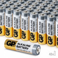 Baterii Alcaline AA GP, R6, High-Performance, 48 buc