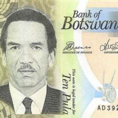 Botswana 10 Pula 2014 - P 30 UNC !!! - bancnota africa