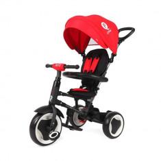 Tricicleta pliabila pentru copii QPlay Rito Rosu DHS - Tricicleta copii