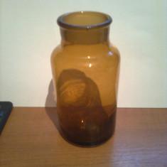 BORCAN / STICLA DE LABORATOR PENTRU REACTIVI ( LIPSA DOP )  ~ 500 ml  ( 0,5 L )