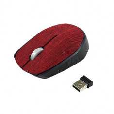 Mouse wireless Vakoss TM-662R Textile Red
