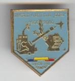 BRIGADA 4 Artilerie Antiaeriana GORJ - Targu Jiu - Insigna MILITARA - Superba