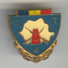 Insigna CTA - GRANICERI - Republica Socialista Romania 1970