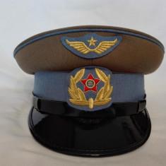 Cascheta, sapca, chipiu ofiter de aviatie, pilot aviator RPR