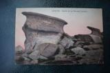 AKVDE18 - Carte postala - Busteni - Babele pe muntele Caraiman, Circulata, Printata
