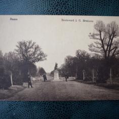 AKVDE18 - Carte postala - Buzau - I C Bratianu - Carte Postala Banat dupa 1918, Circulata, Printata