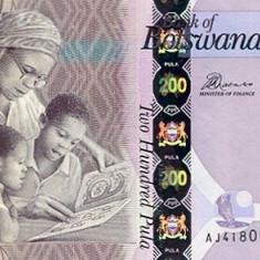Botswana 200 Pula 2014 - P 34 UNC !!! - bancnota africa