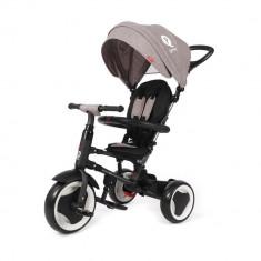 Tricicleta pliabila pentru copii QPlay Rito Gri DHS - Tricicleta copii