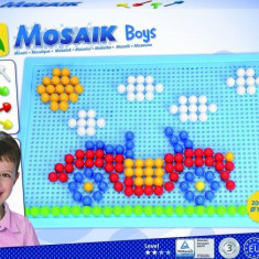 Set Creatie Si Constructie Mozaic Lena Baieti 200 Piese - Jocuri arta si creatie