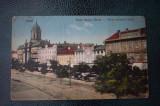 AKVDE18 - Carte postala - Arad - Bulevardul, Circulata, Printata