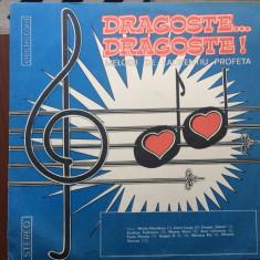 Laurentiu profeta dragoste dragoste melodii disc vinyl lp Muzica Pop electrecord slagare, VINIL