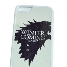 Husa ultradurabila Game Of Thrones Apple iPhone 6, iPhone 6/6S, Alb, Plastic, Allview