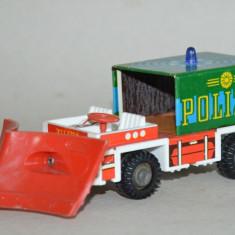 Masinuta veche RDG Filius Politie cu frictiune - Jucarie de colectie