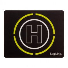 Mousepad Logilink ID0146 Glimmer Helipad Black