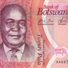 Botswana 20 Pula 2014 - P 31 UNC !!! - bancnota africa
