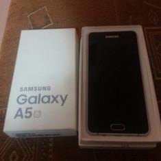 Samsung A5 2016 Gold Edition Impecabil 16 GB Full Box + Cadou - Telefon Samsung, Auriu, Neblocat, Single SIM