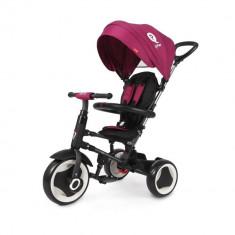 Tricicleta pliabila pentru copii QPlay Rito Violet DHS - Tricicleta copii