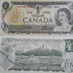 Bancnota 1 dolar Canada 1973 - bancnota america