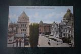 AKVDE18 - Carte postala - Bucuresti - Vedere spre casa de depuneri, Circulata, Printata