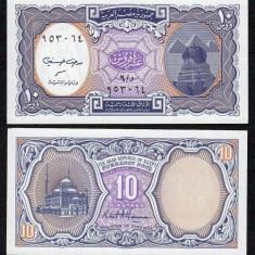 EGIPT. 10 PIASTRES 1998. UNC. - bancnota africa