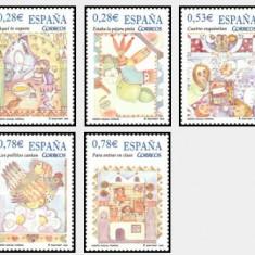 Spania 2005 - Cantece de copii, serie neuzata