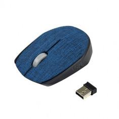 Mouse wireless Vakoss TM-662B Textile Blue