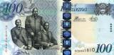 Botswana 100 Pula 2012 - P 33 UNC !!!
