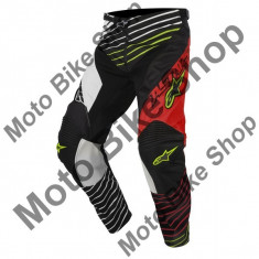 MBS ALPINESTARS RENNHOSE RACER BRAAP, rot-weis-schwarz, 32, LE2017, Cod Produs: 372141732132AU - Imbracaminte moto Alpinestars, Pantaloni