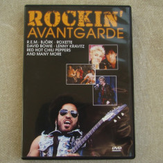 ROCKIN' AVANTGARDE - David Bowie Lenny Kravitz Roxette - D V D Original ca NOU