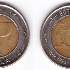 Botswana 2013 - 2 pula bimetal, rinocer