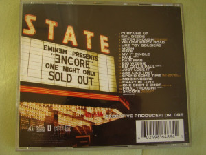 EMINEM - Encore - C D Original ca NOU