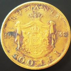 Moneda 500 Lei - ROMANIA, anul 1945 *cod 2663 --- CIRCULATA - Moneda Romania