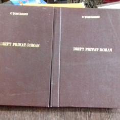 DREPT PRIVAT ROMAN - C. TOMULESCU 2 VOLUME - Carte Drept penal