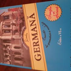Limba germana. Exercitii de gramatica si vocabular. Ed VI - Curs Limba Germana polirom