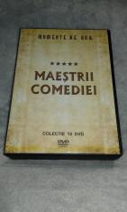 Maestrii Comediei - Momente de aur - Colectie 12 DVD foto