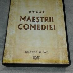 Maestrii Comediei - Momente de aur - Colectie 12 DVD, Romana, productii romanesti