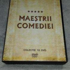 Maestrii Comediei - Momente de aur - Colectie 12 DVD - Film Colectie productii romanesti, Romana