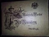 Malerische Partien aus Alt-Nürnberg - litografii