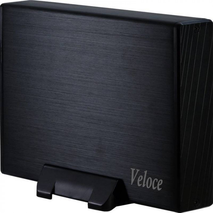 Rack HDD Inter-Tech Veloce GD-35612 black foto mare