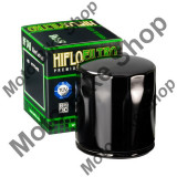 MBS Filtru ulei negru Harley Davidson VRSCA V-Rod 02-06, VRSCAW V-Rod (EFI) 07-09, VRSCB V-Rod 04-05, Cod Produs: HF174B
